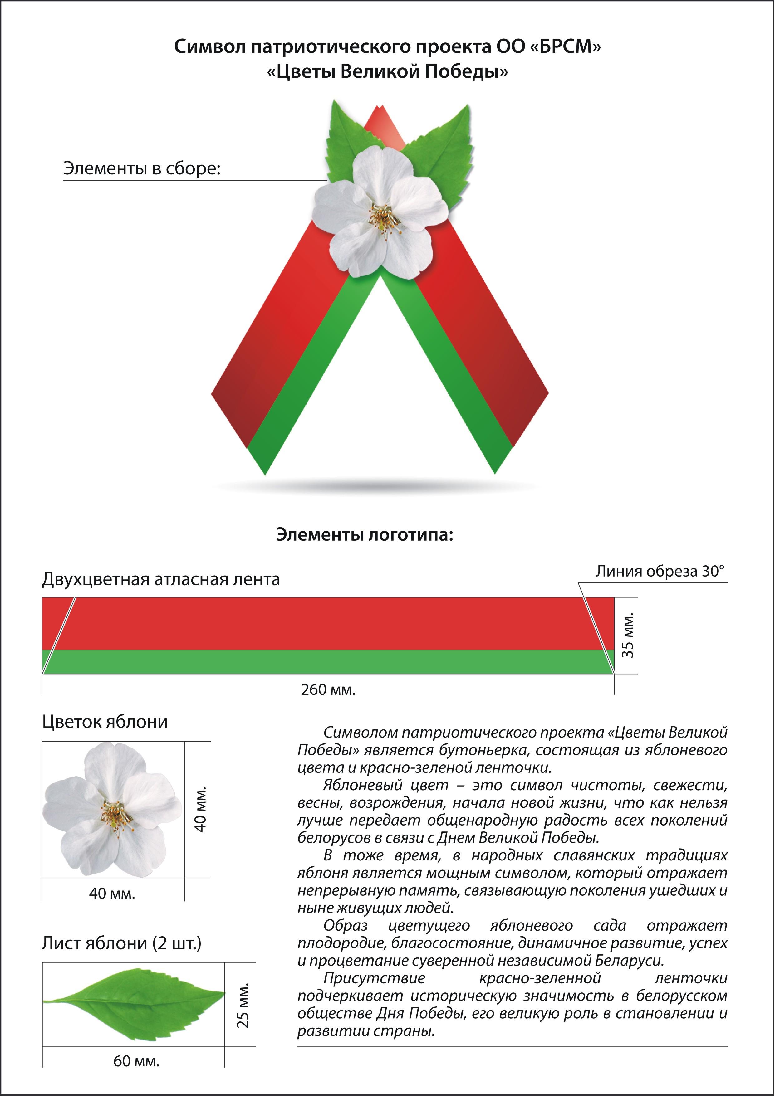 Славянский символ в цветах